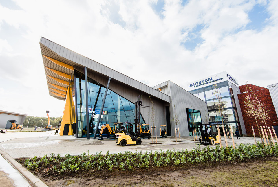 Image of the Hyundai Construction Equipment Europe Headquarters