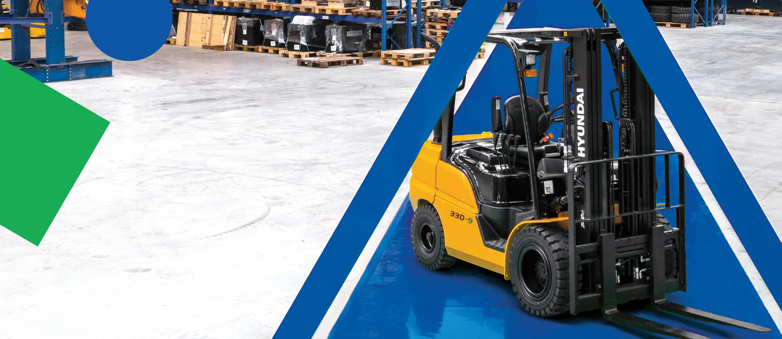 Units fabrication forklift trucks
