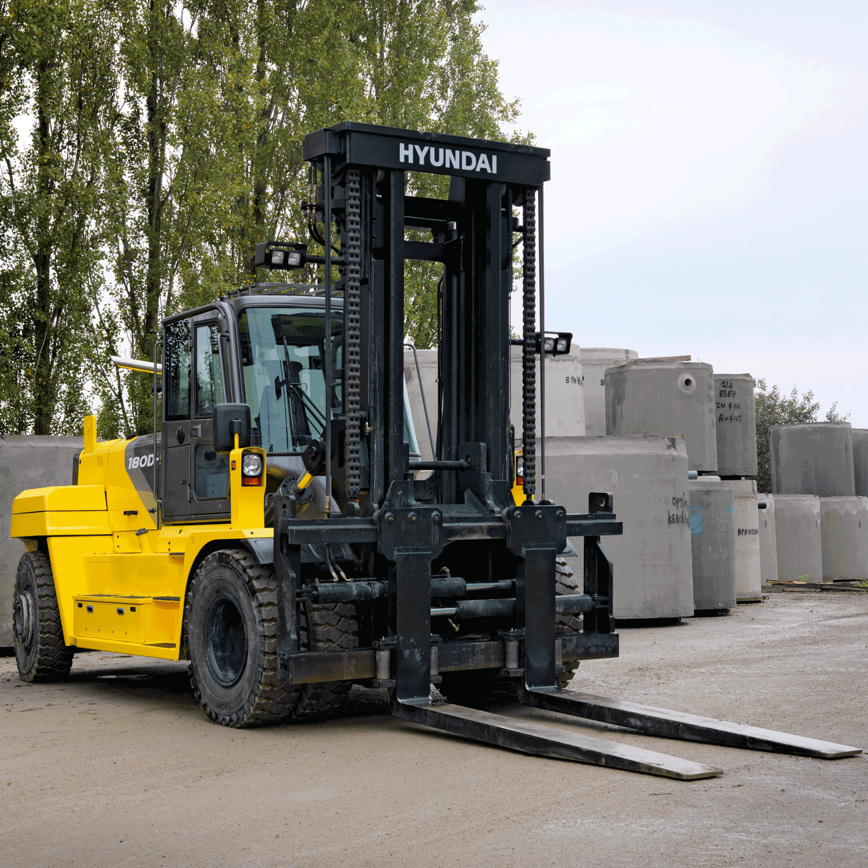 Hyundai 18 0 Diesel Forklift Truck | Hyundai Material